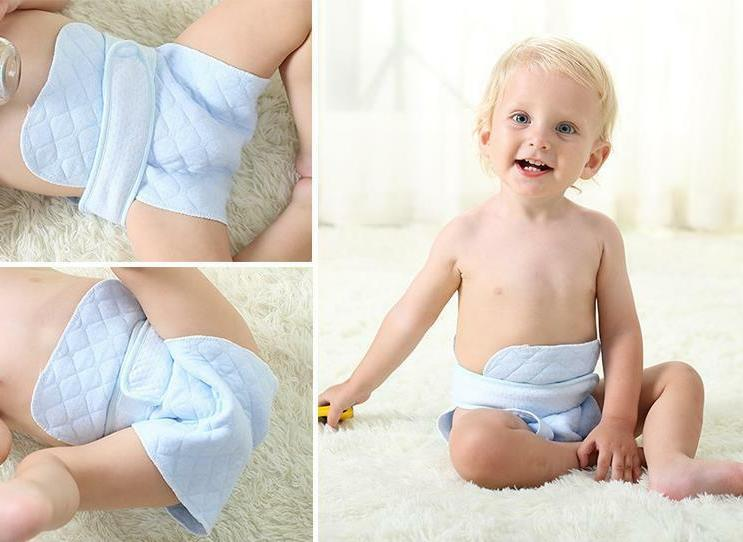 10 Prefold Cloth Baby Diapers