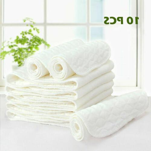 Cotton Cloth Diaper Nappy Liners Layers