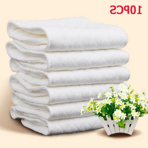 10 pcs reusable pure cotton baby cloth