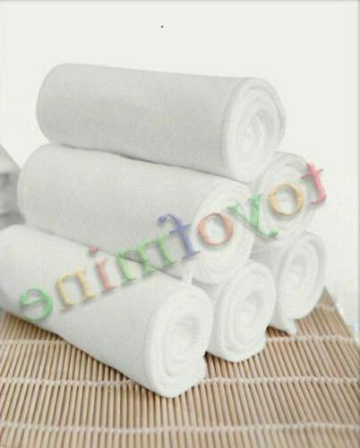 10pcs baby cotton washable reusable soft cloth