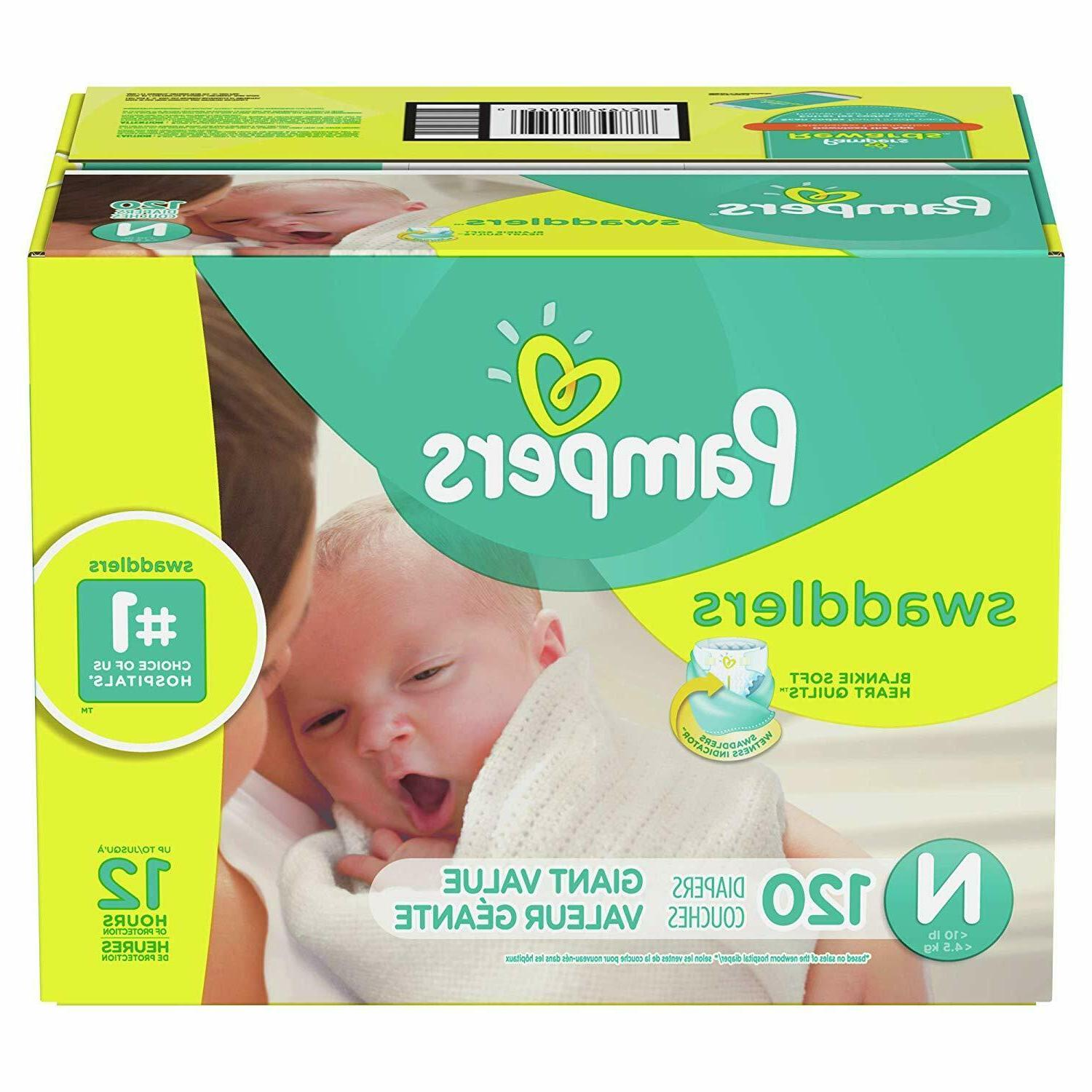120 count swaddlers disposable baby diapers