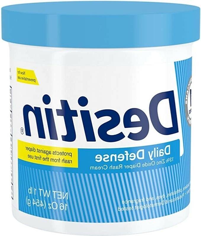 16oz daily defense baby diaper rash cream