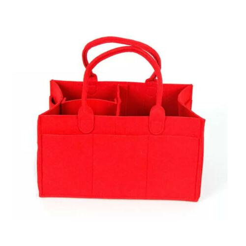 1x Diaper Bag Caddy Nursery Infant Basket