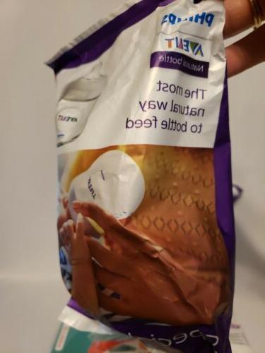 2 Philips Natural Baby Bottle Diaper Samples Ortho