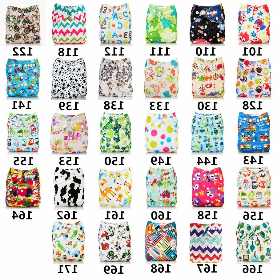 2017 washable baby cloth diaper cover waterproof