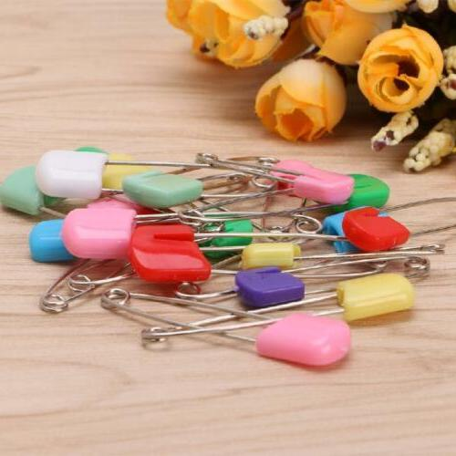 20Pcs Colorful Baby Child Nappy Diaper Pins Safety Locking