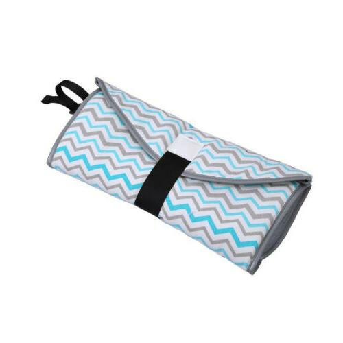 3-IN-1 Baby Changing Pad Foldable Waterproof Clean Clutch Diaper