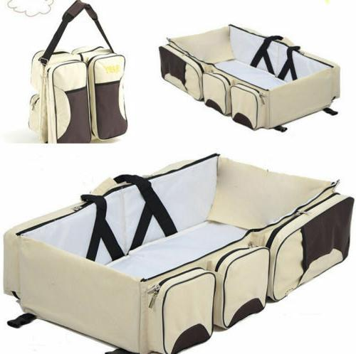 3 Tote Nappy Station Baby Bed