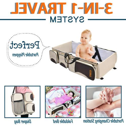 3 1 Tote Bag Bassinet Nappy Changing Station Baby