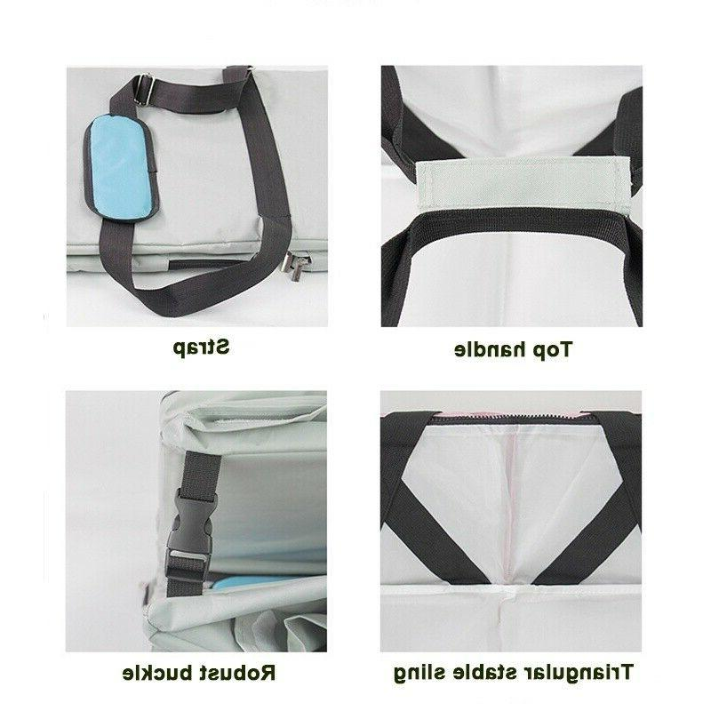 3 in Foldable Mommy Diaper Travel Crib Backpack