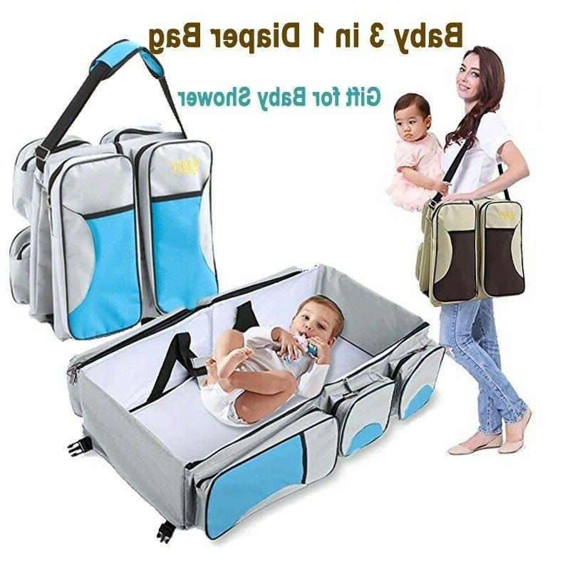 3 in 1 foldable mommy baby diaper
