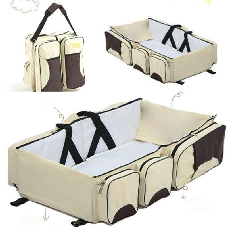 3 in Infant Bassinet Bag Changing Travel