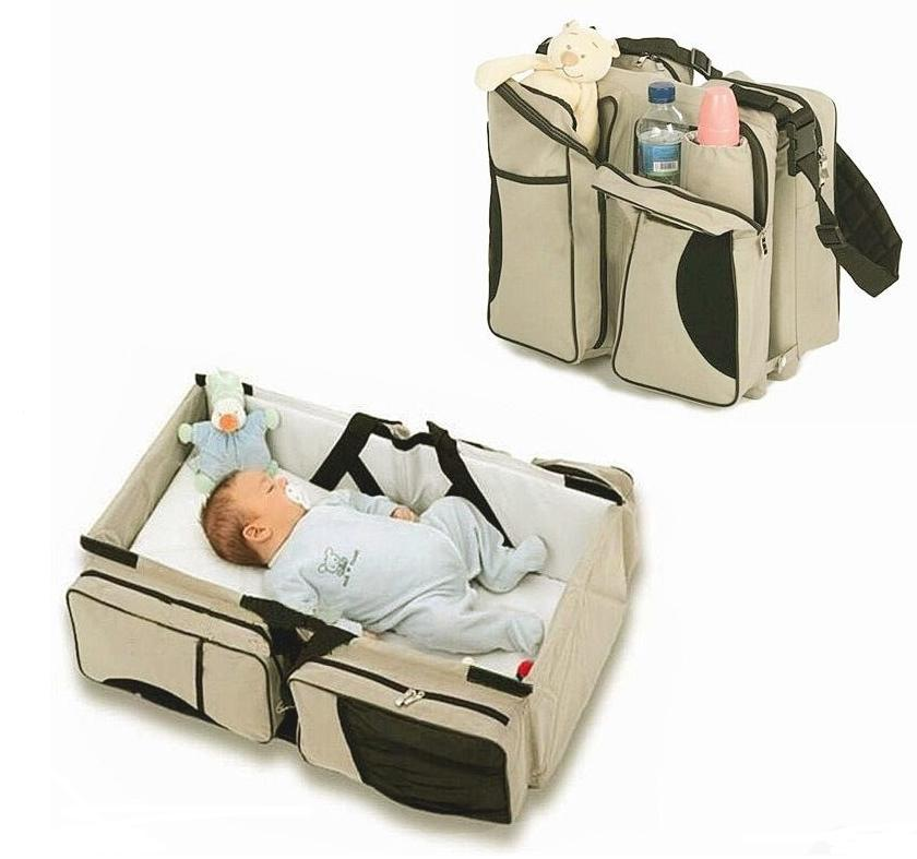 3 in Portable Infant Baby Bag Changing Travel
