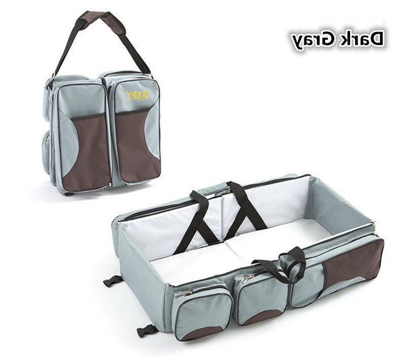 3 in Infant Baby Bassinet Bag Changing Travel