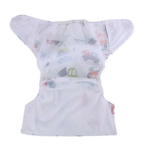 Baby Girl Pee Potty Pants Washable Cloth Diaper Nappy