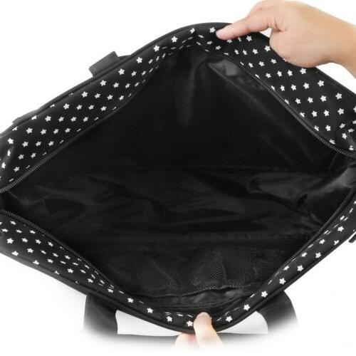 3pcs/set Larger Bag Baby Diaper Bag Mommy Nappy BLK