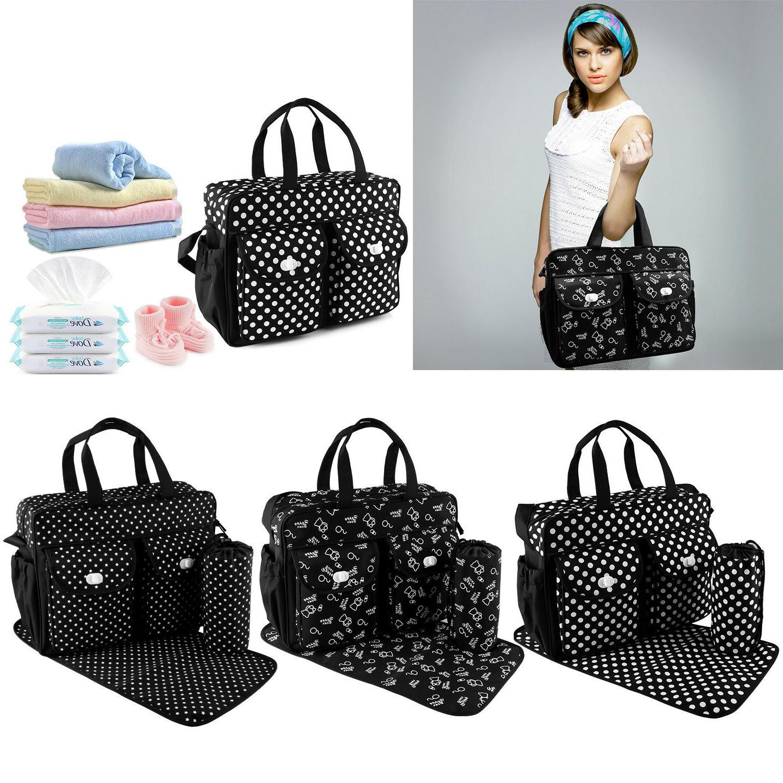 3pcs Nappie Changing Bags Mummy Bag Travel