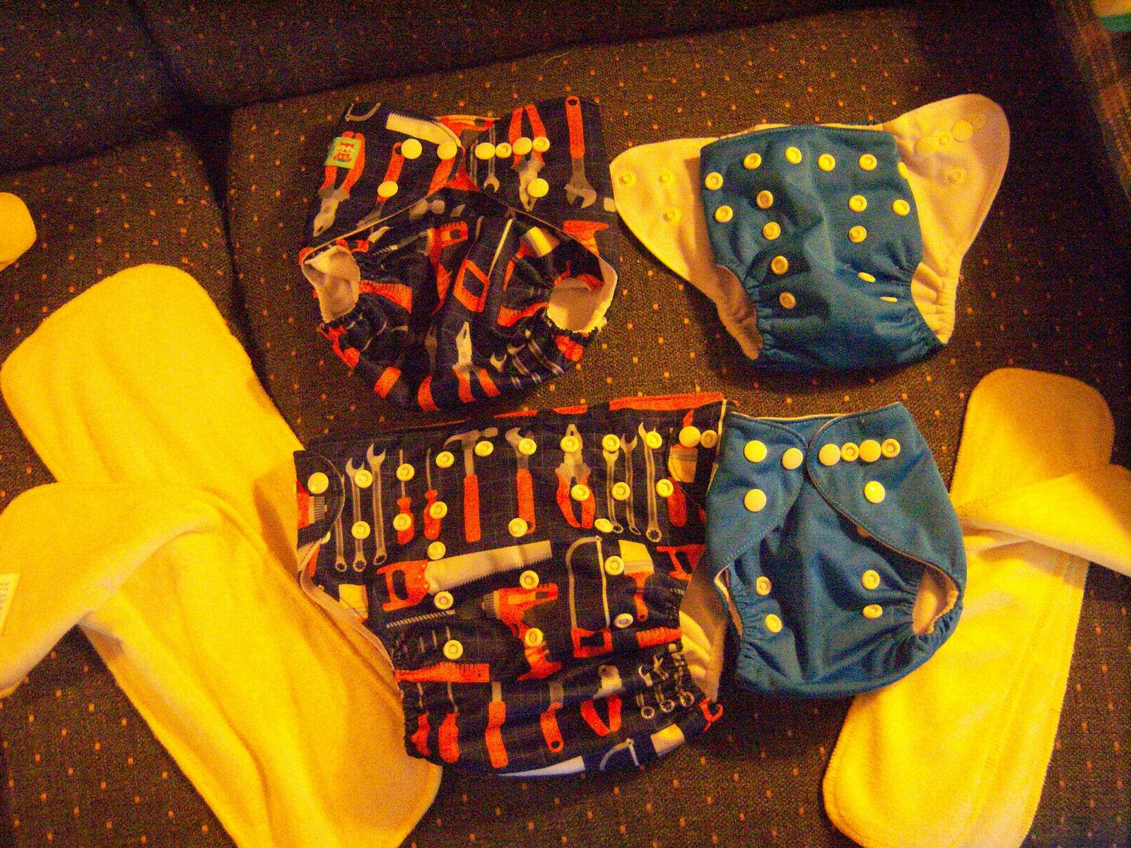 4 Cloth In Diapers