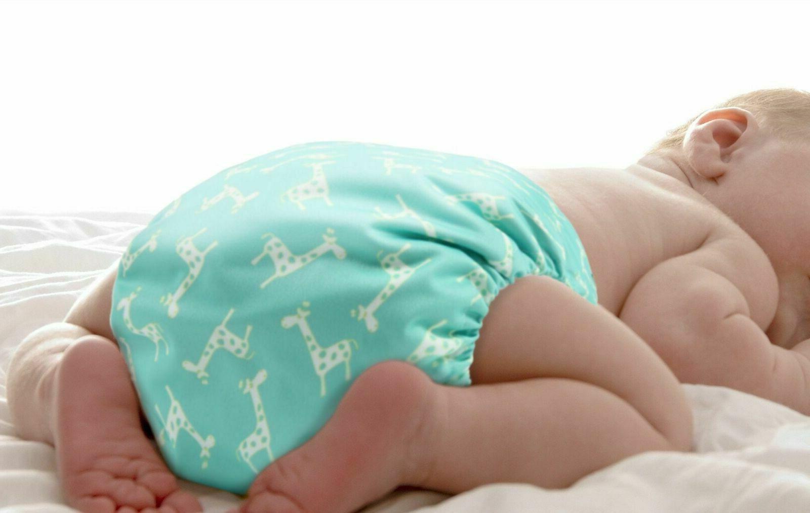 4 Para Ecologicos 0-24 Bebés Reutilizables Set