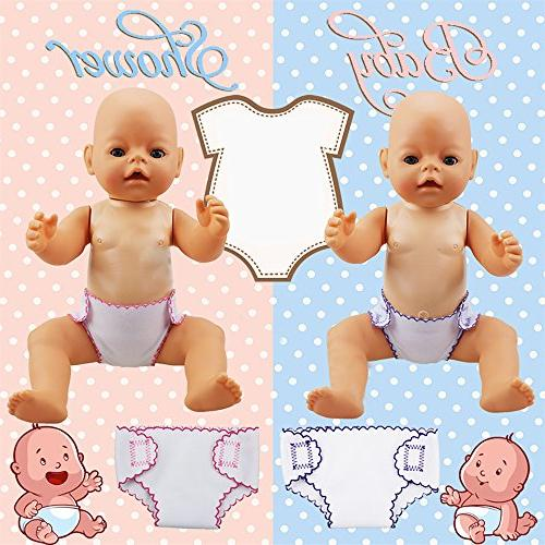 XADP 4 Sets Doll Diapers Doll for Baby American Girl Other