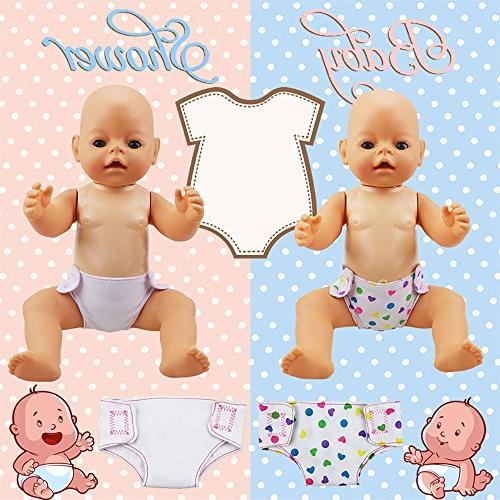 """XADP Sets Doll Diapers Doll Set for Baby ,18"""" American Girl Other Similar"""