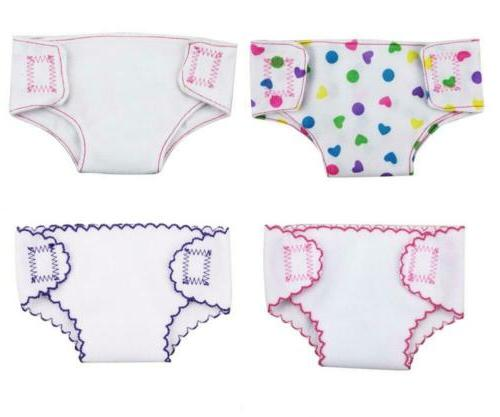 4 sets alive diapers doll