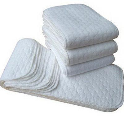 5 10 pcs reusable baby cloth diaper
