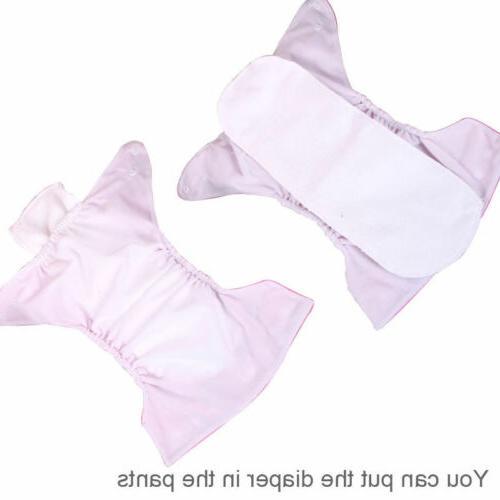 5 5 Adjustable Baby Washable Nappies