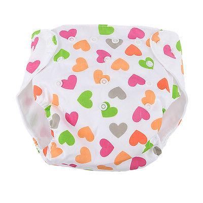 5 Diapers Nappies Adjustable Reusable