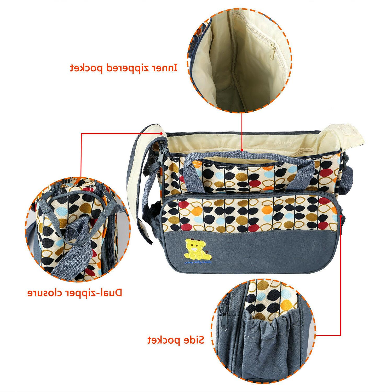 5 Baby Changing Diaper Mummy Mother Handbag