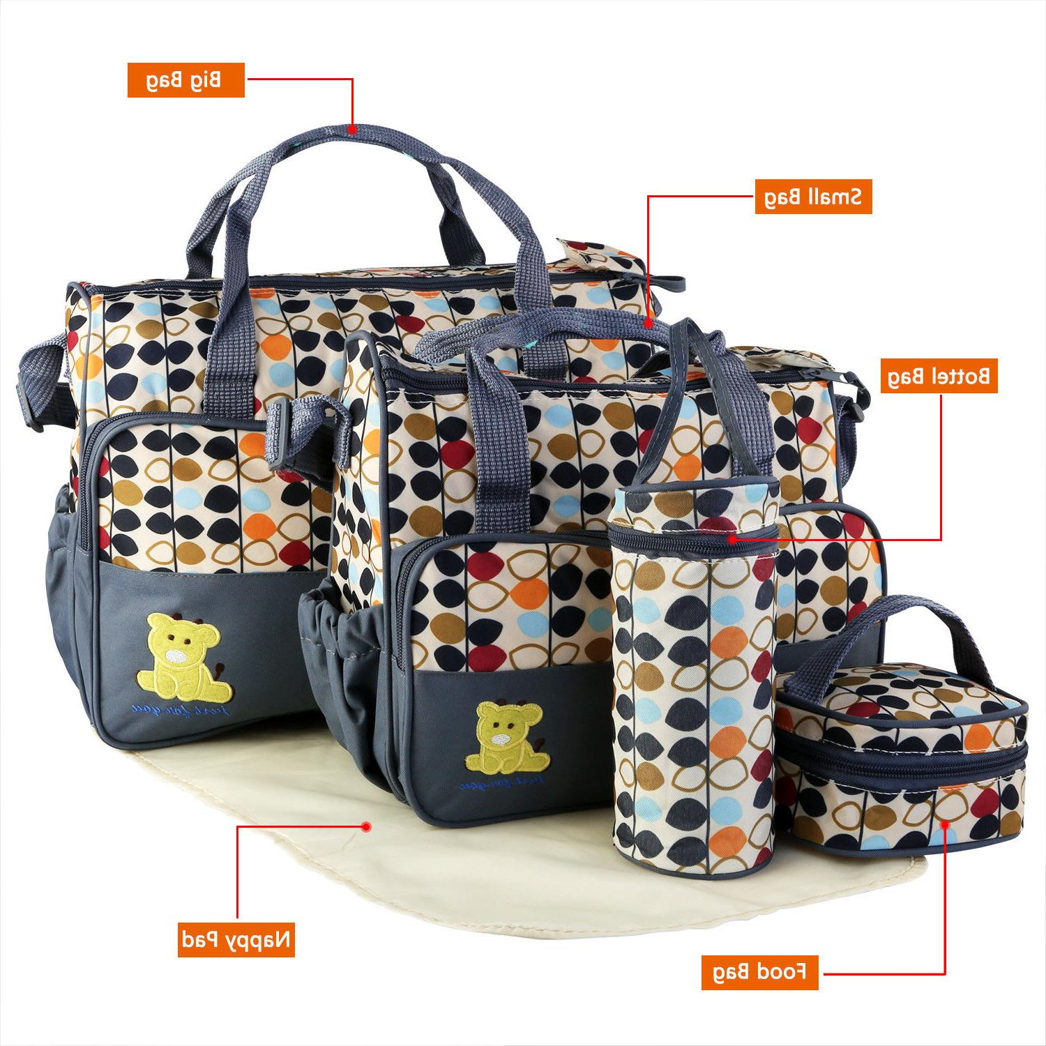 Baby Bag Maternity Tote Parents Travel with Pad