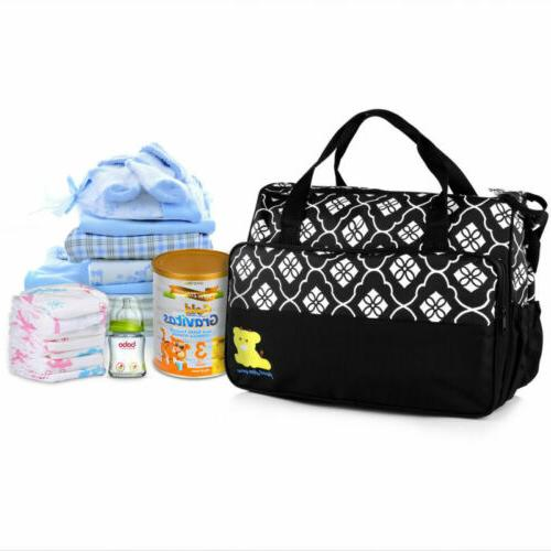 5Pcs Nappy Changing Set Mummy Bag Maternity