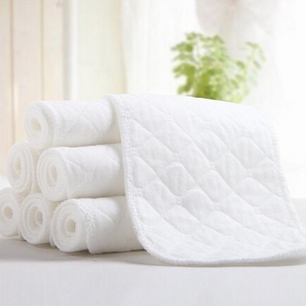 5PCS <font><b>Diapers</b></font> Bamboo Eco Cotton Nappy <font><b>diaper</b></font>