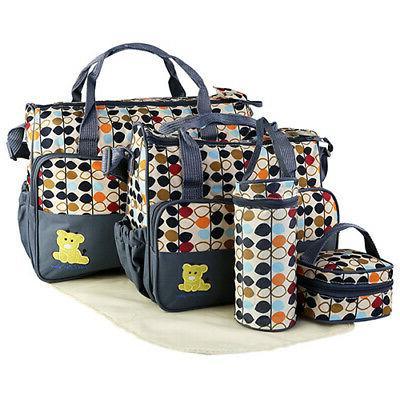 5Pcs/Set Handbag Baby Changing Nappy