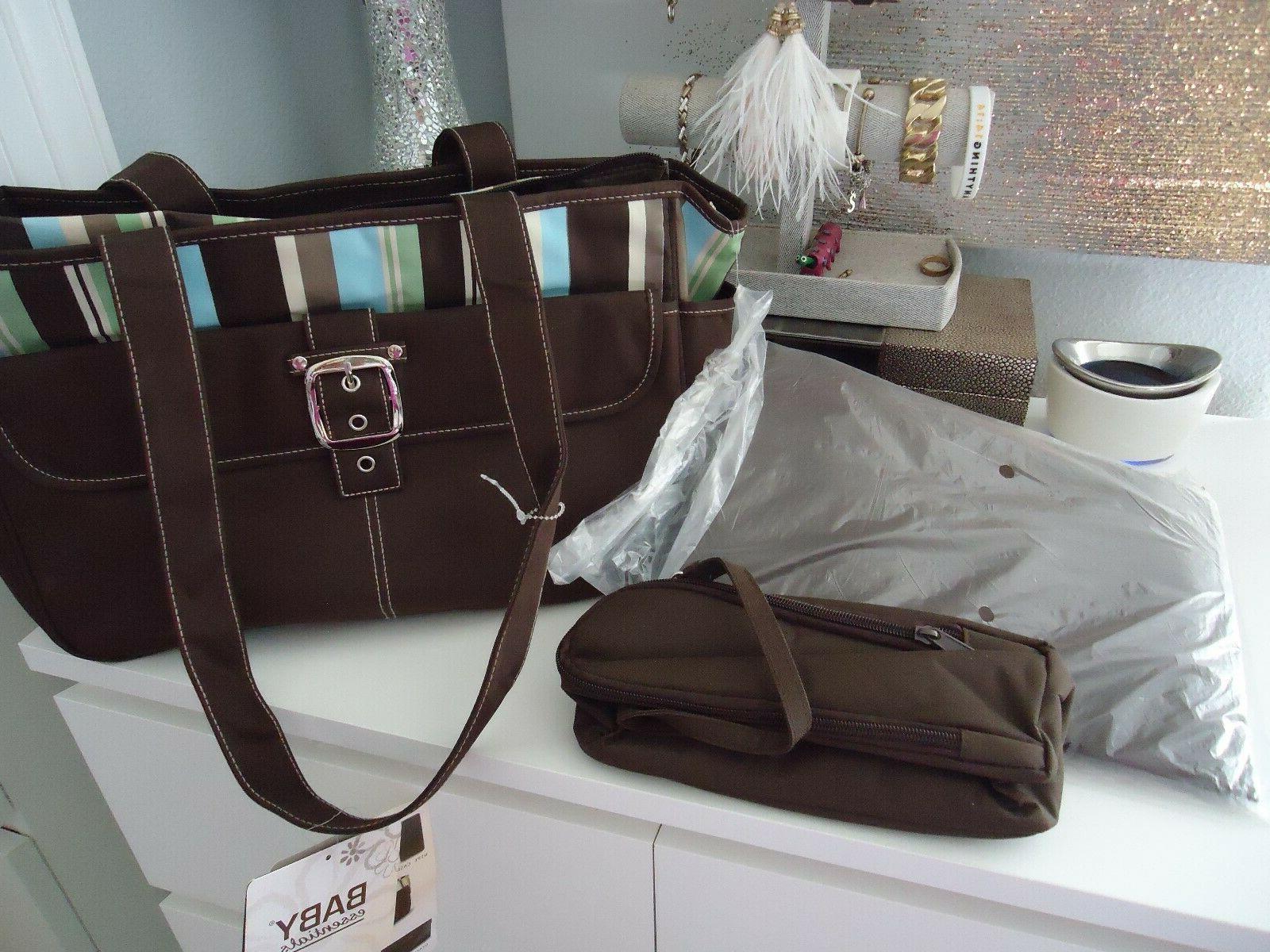 5Pcs/Set Mummy Handbag Diaper Nappy Bag