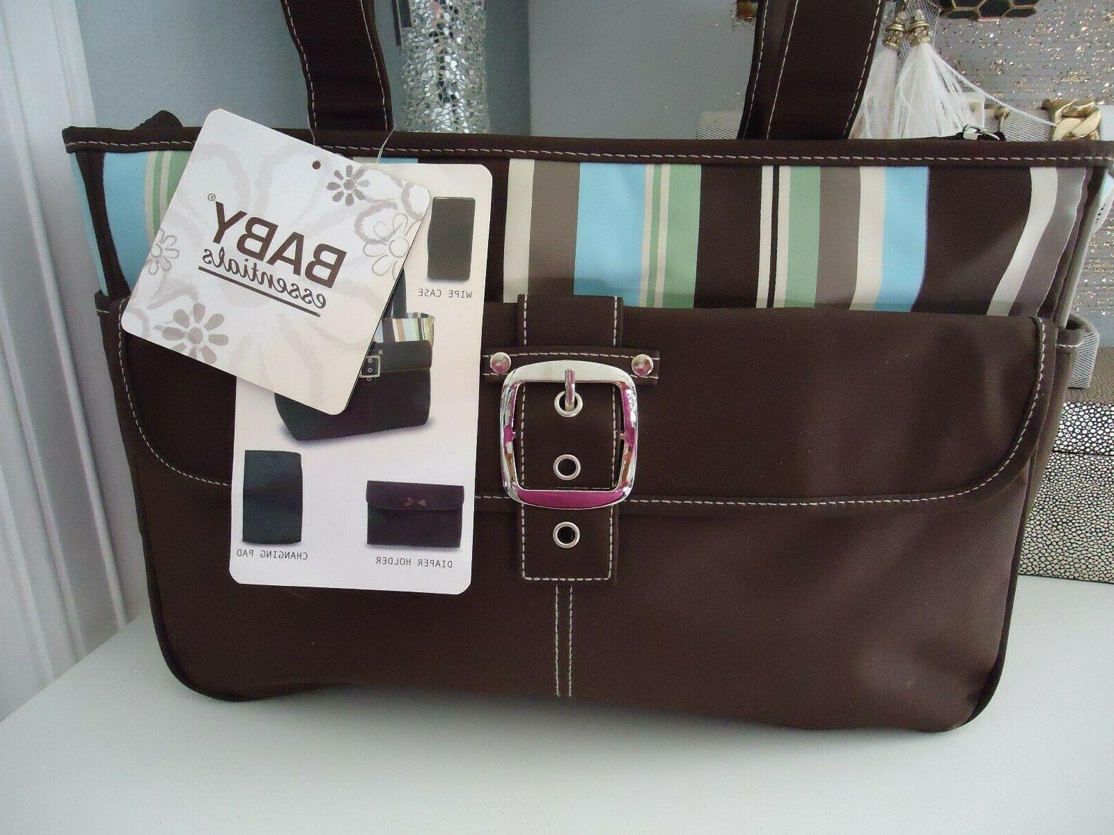5Pcs/Set Multi-functional Mother Handbag Baby Changing Nappy Bag