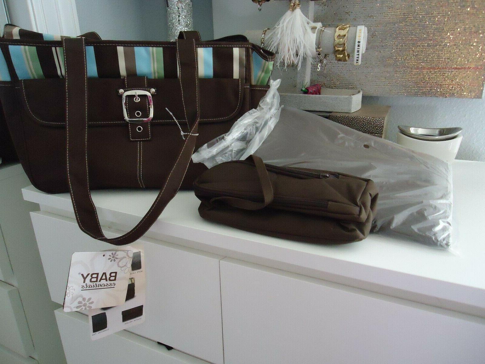 5Pcs/Set Multi-functional Mummy Handbag Nappy Bag