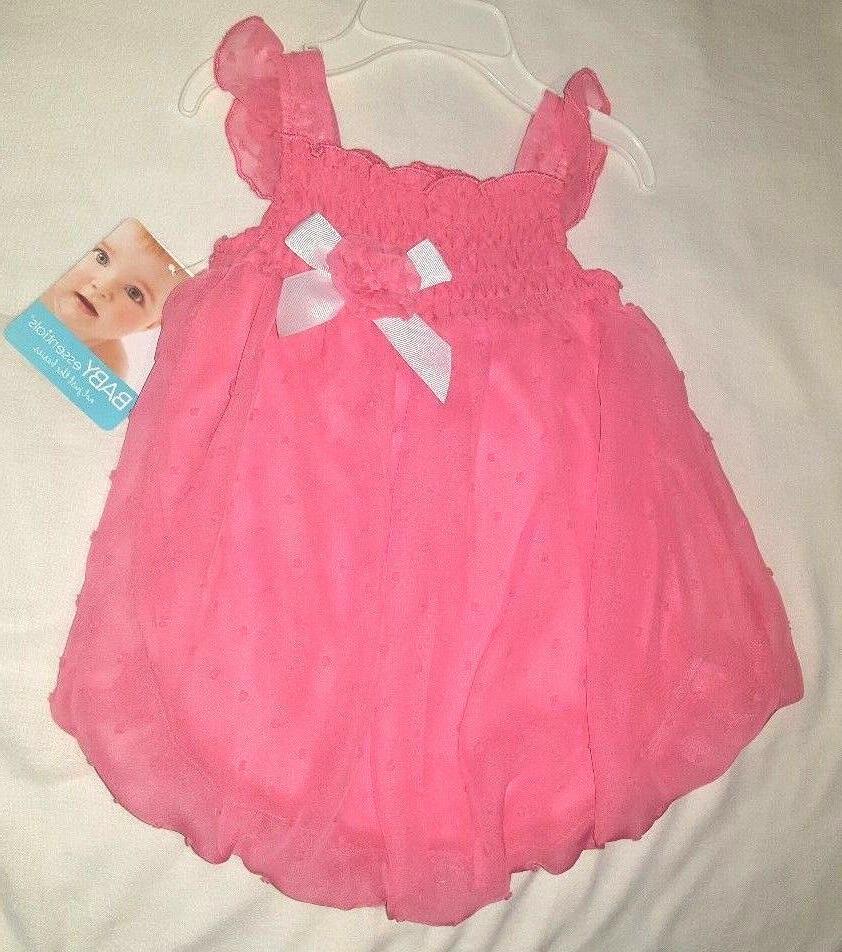 9M Girls Dress Coral Sleeveless Summer Dressy by Baby