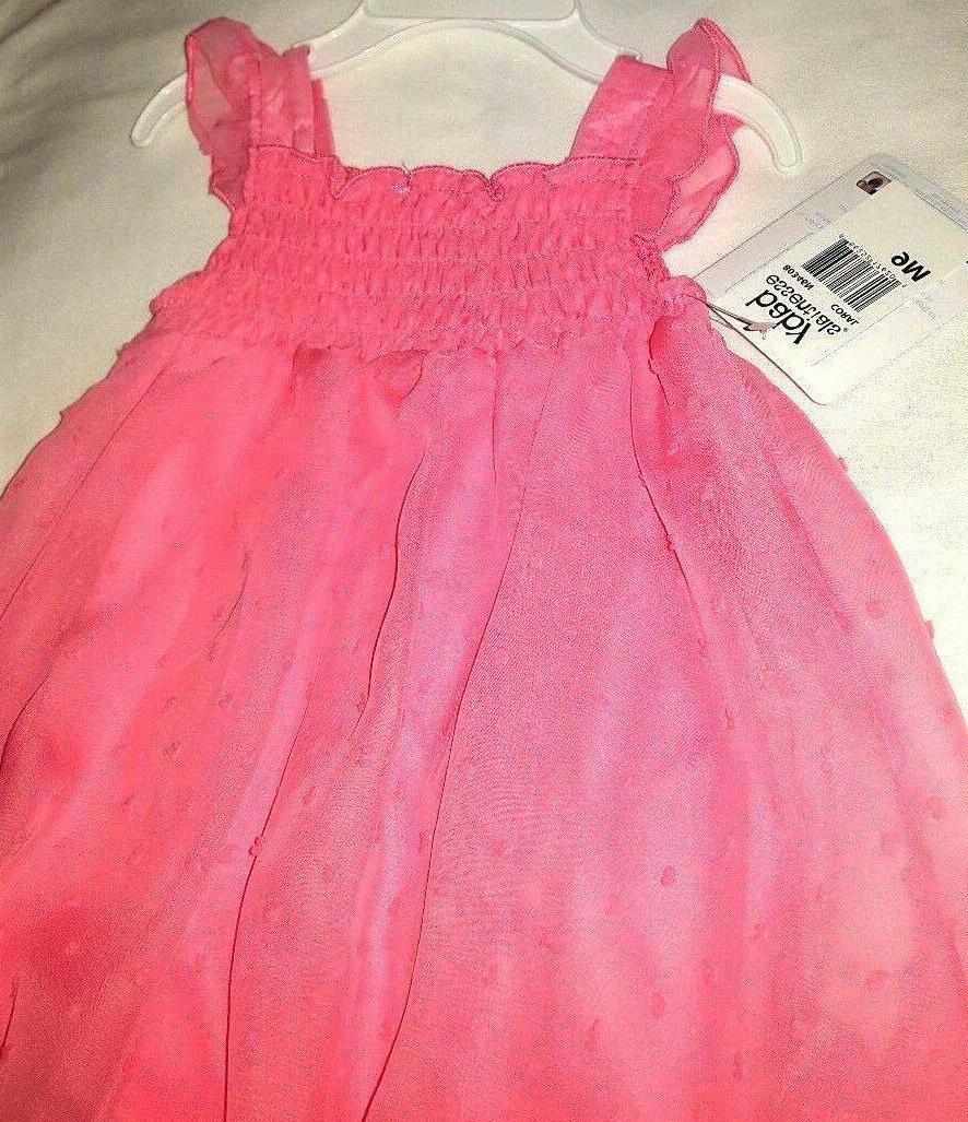 9M Sleeveless Summer Diaper Dressy by Baby