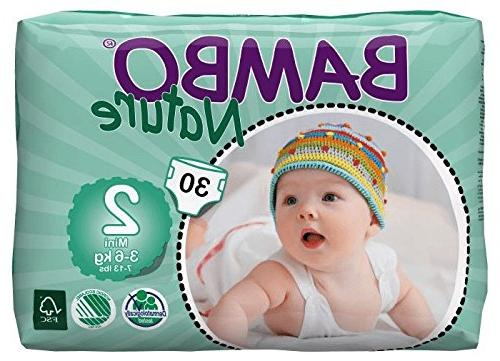Bambo Baby Diapers Classic for Sensitive Size , Count