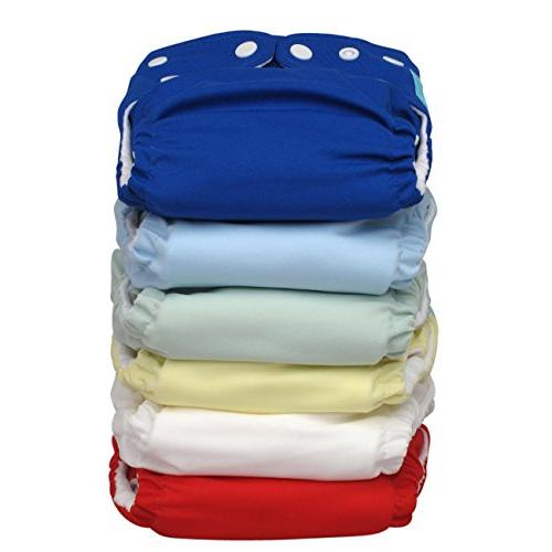 Charlie 2-in-1 Diapers, One Size Inserts