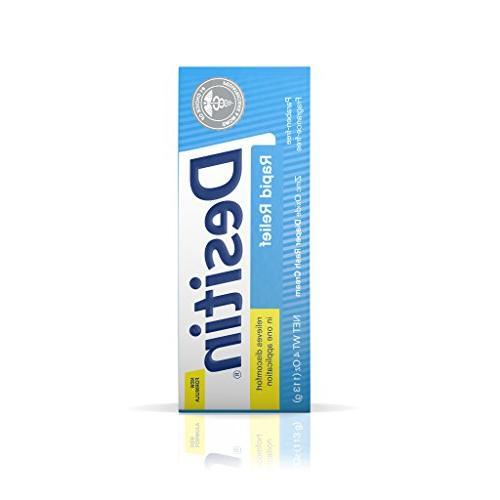Desitin Rash Fragrance-Free Cream, 4 Oz.