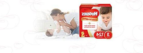 Huggies Baby Diapers, Size 3, Count, PACK