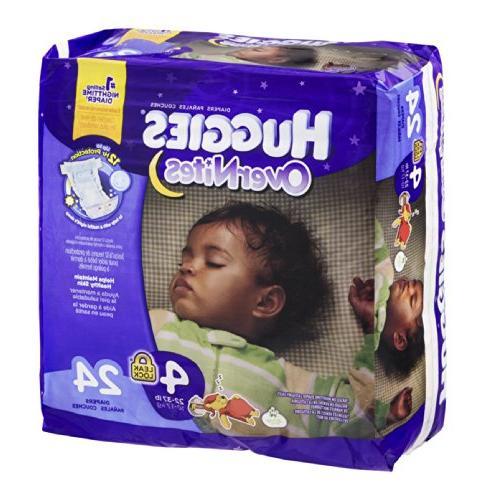 Huggies OverNites Disney Baby Stage 4 Diapers  24 CT