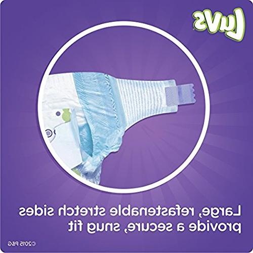Luvs Diapers Ultra With Night Size 4 Value