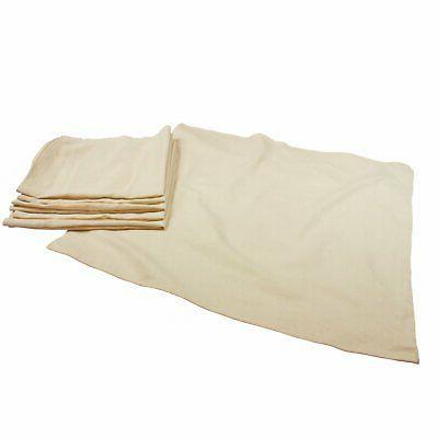 OsoCozy - Unbleached Birdseye Flat Diapers  - 27 x 30.5 - On