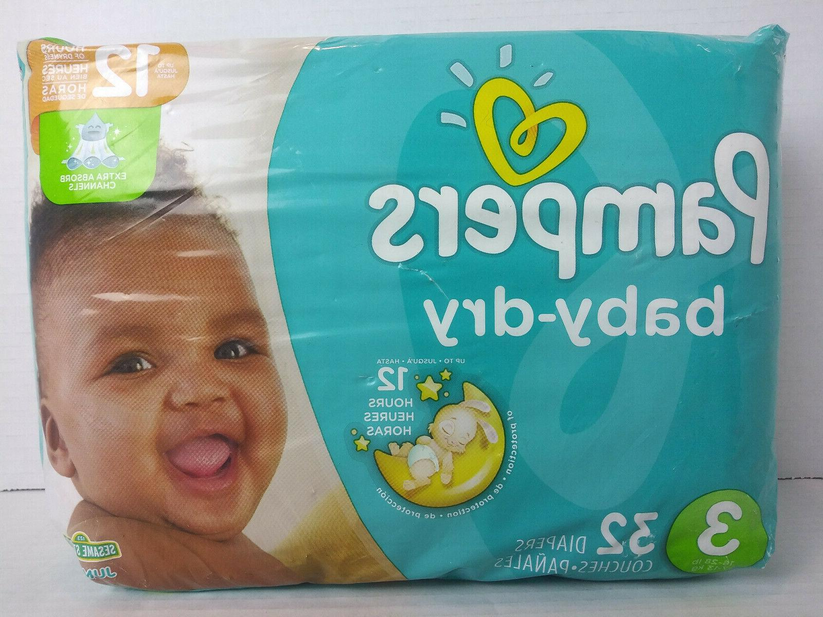 Pampers Baby-Dry Size Count, JUMBO
