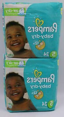 Pampers Baby-Dry Disposable Diapers Size 2, 37 Count, JUMBO