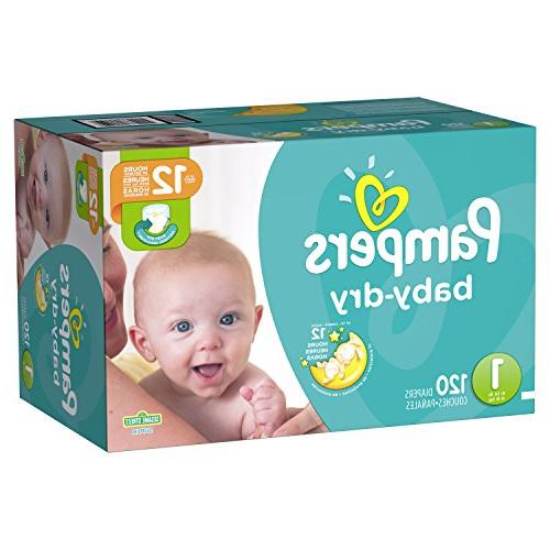 Pampers Baby 2 Super Pack - 112 Count