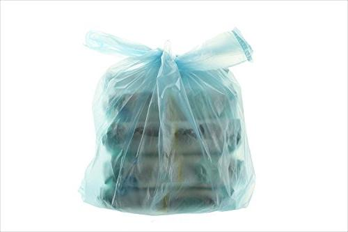 Party Disposable Bags with Baby Powder Scent Easy-Tie Sacks Home and 200
